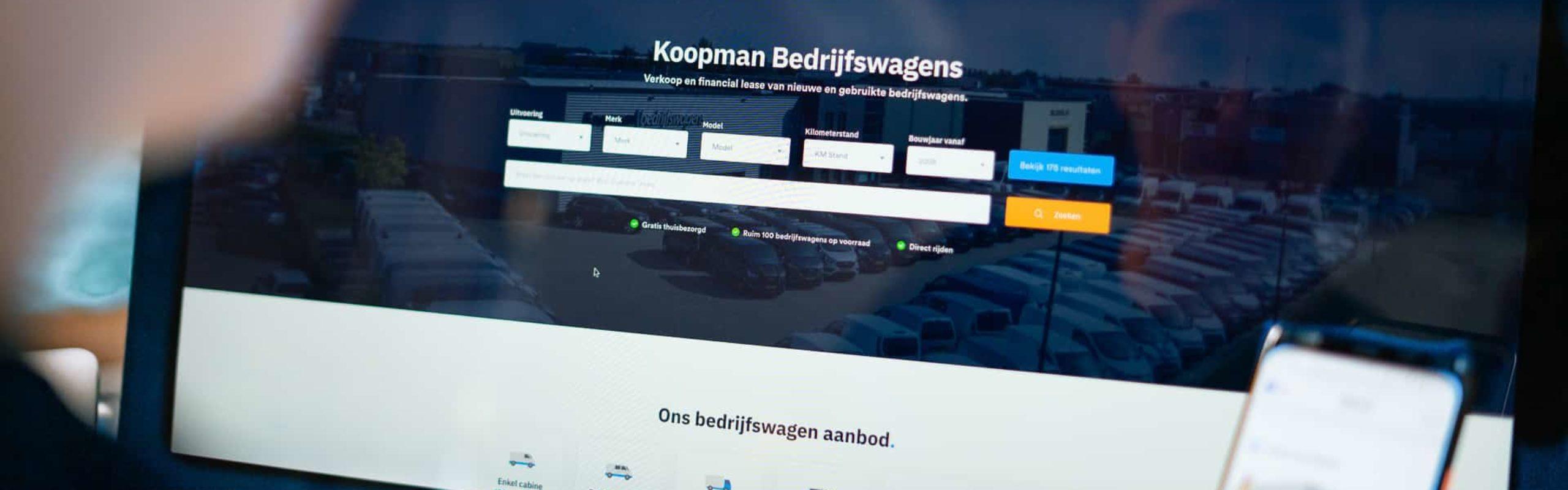 Case - Koopman Bedrijfswagens - Responsive