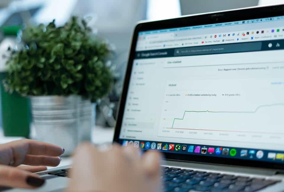 Blog - Performance - Google Search Console - Web Vitals